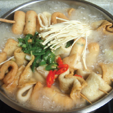 H4. Fish Cake Hot Pot