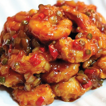 K14. Sweet & Spicy Shrimp