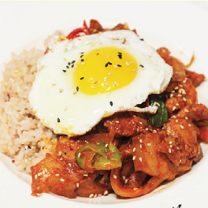 L11. Spicy Pork Rice Bowl